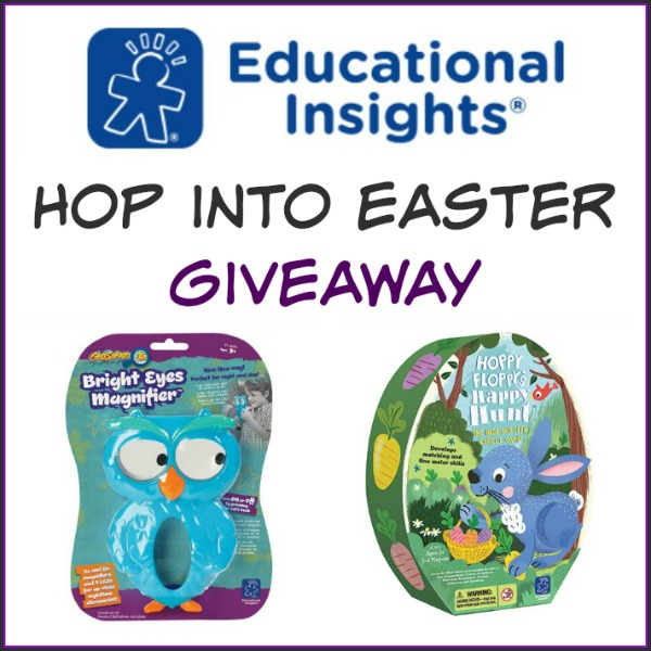 Hop into Easter with Educational Insights Giveaway