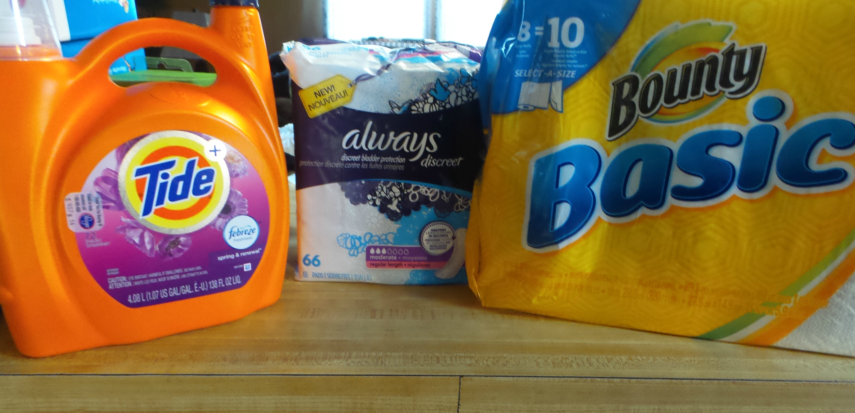Low Prices on P&g Products