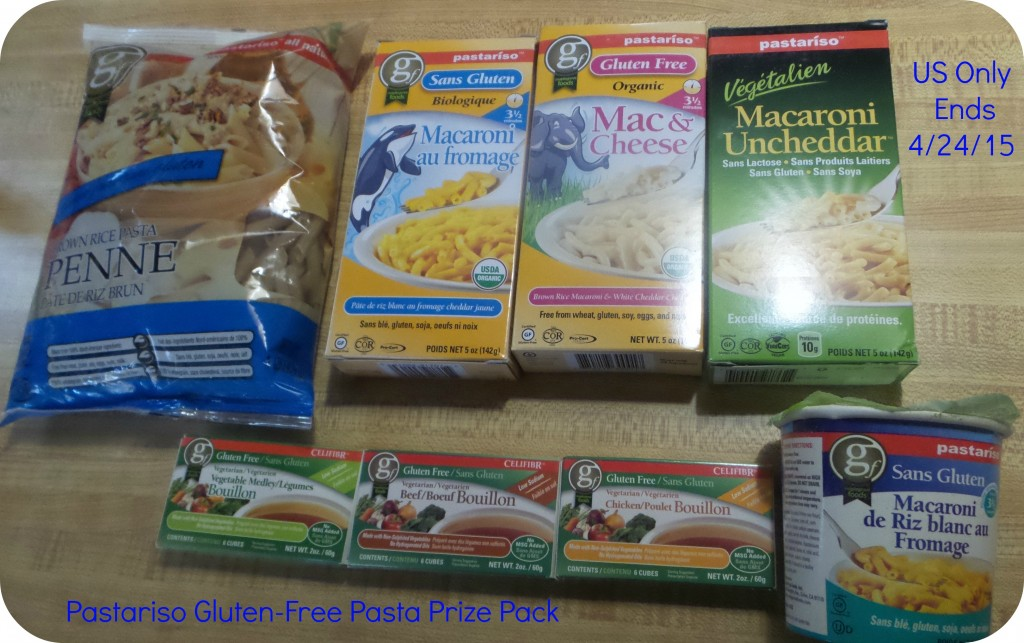 Enter the Pastariso Gluten-Free and Vegan Pasta Prize Pack Giveaway. Ends 4/24
