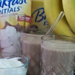 Healthy Breakfast Smoothie under 325 Calories with Carnation Breakfast Essentials