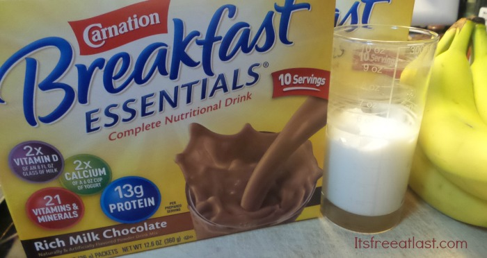 Carnation Breakfast Smoothie