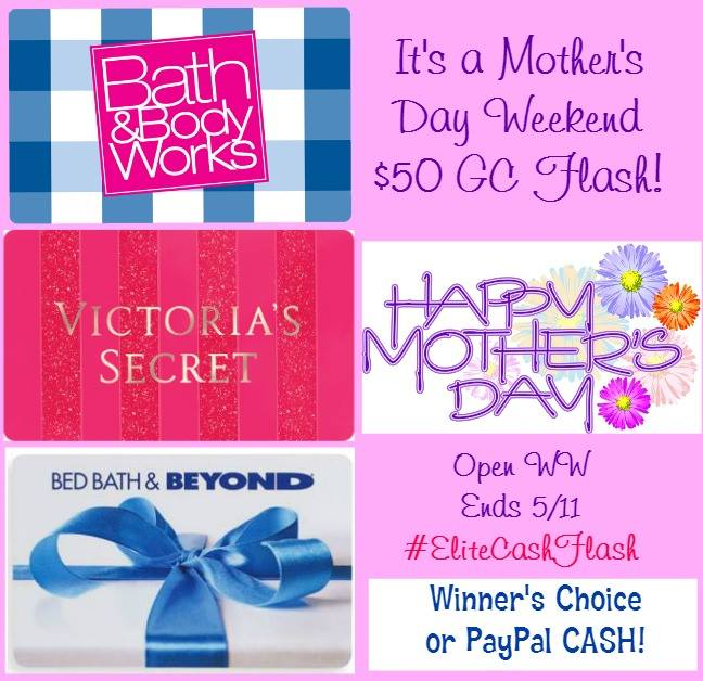 Mother's Day Flash Gift Card Surprise