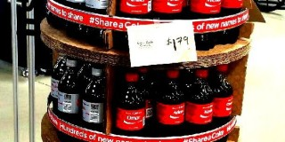 Share a Coke Display