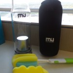 MIU COLOR Glass Water Bottle for Hydration on the Go