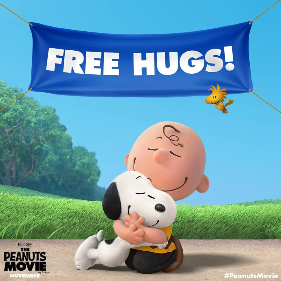 Snoopy Free Hugs