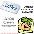 Flash Cash Giveaway