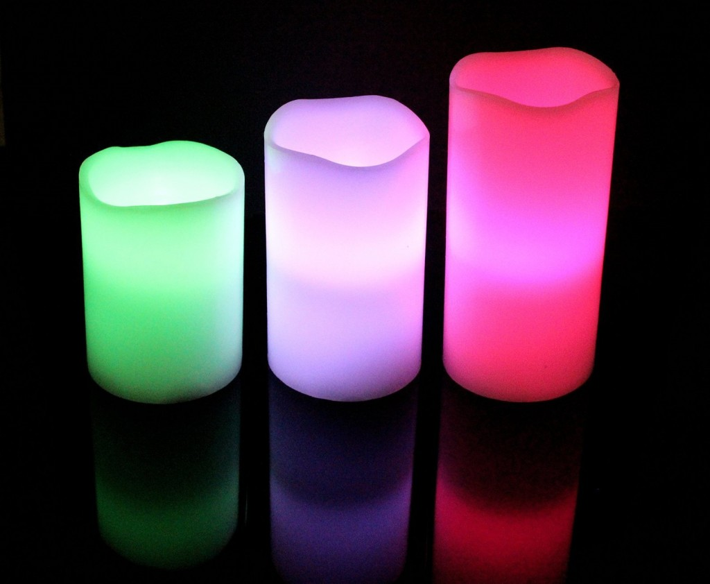 light up every room with ohuhu color wax flameless candle