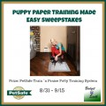 Puppy Paper Training Made Easy Sweepstakes