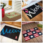 Welcome-A-Cure Breast Cancer Awareness Welcome Mats Giveaway