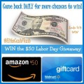 Weekend Comment Flash Giveaway ~ Win $50 Cash Prize