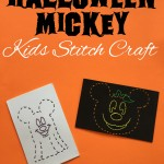 Free Printable Disney Halloween Kids Stitch Craft