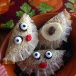 Nature's Harvest PB Apple Raisin Cinnamon Sandwich Art Recipe