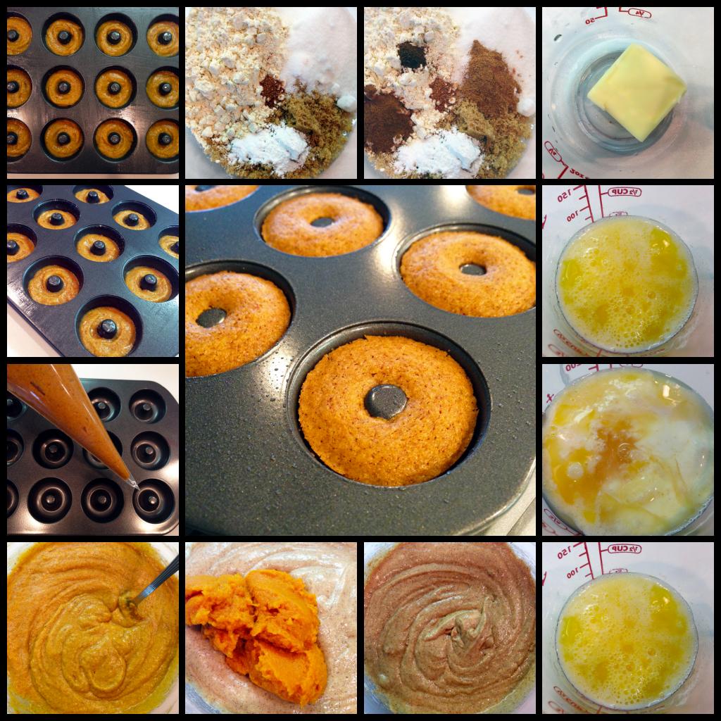 Pumpkin Spice Mini Cake Doughnuts