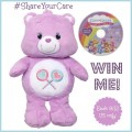 We want YOU to win Care Bears Share 12″ Bear Toy with DVD!