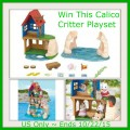 Calico Critters Secret Island Playhouse Giveaway