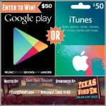 Weekend Elite Cash Flash Giveaway – Win $50 iTunes or Google Play Gift Card
