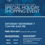 Prizes, Gifts and More at the Best Buy Holiday Shopping Event on November 7th #WinTheHolidaysSweepstakes
