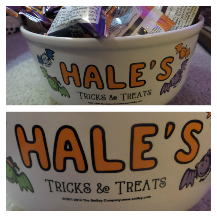 Personalization Mall Candy Bowl