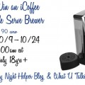 iCoffee Opus Single Serve Brewer Giveaway