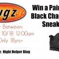 Win a Pair of Lugz Black Changeover Shoes