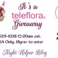 Win a Teleflora Pink Grace Bouquet Giveaway