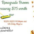Renegrade Broom Giveaway