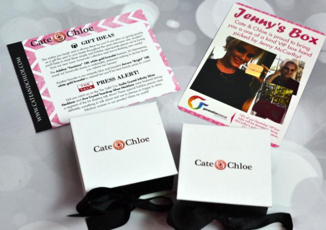 Cate & Chloe Jenny McCarthy VIP Box #FAMChristmas