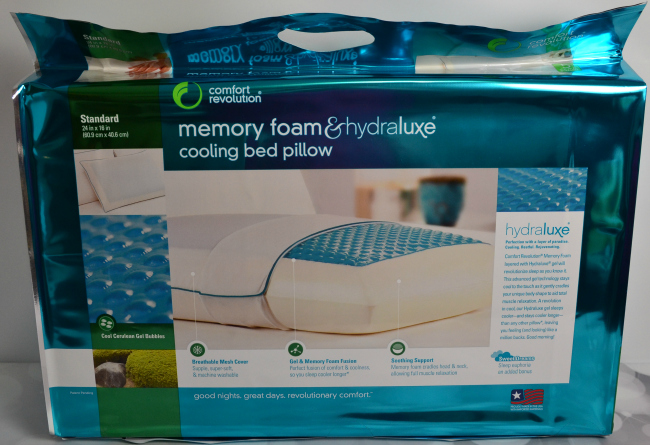 Comfort Revolution Cooling Bed Pillow #FAMChristmas