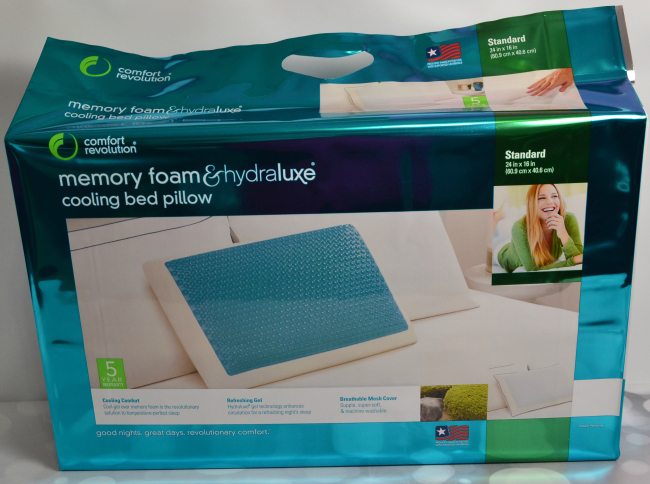 Comfort Revolution Cooling Bed Pillow Famchristmas It S