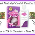 $25 Whole Foods Gift Card & DivaCup Giveaway