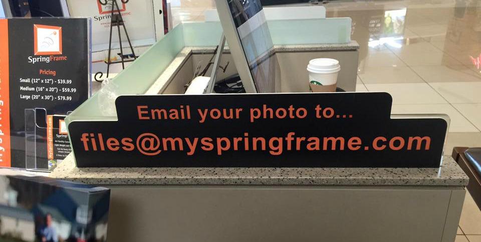 Email Springframe