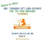 $100 Fandango Gift Card Giveaway