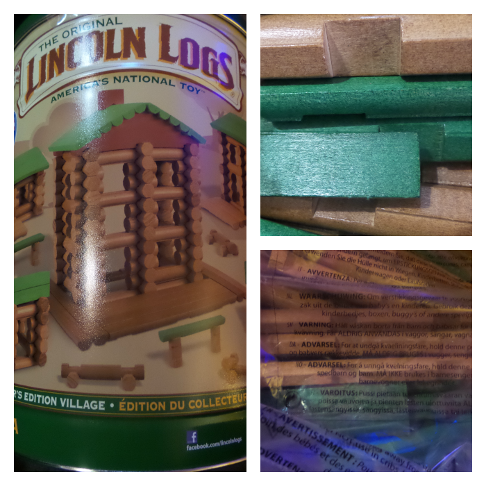 Lincoln Logs 100 Anniversary Set