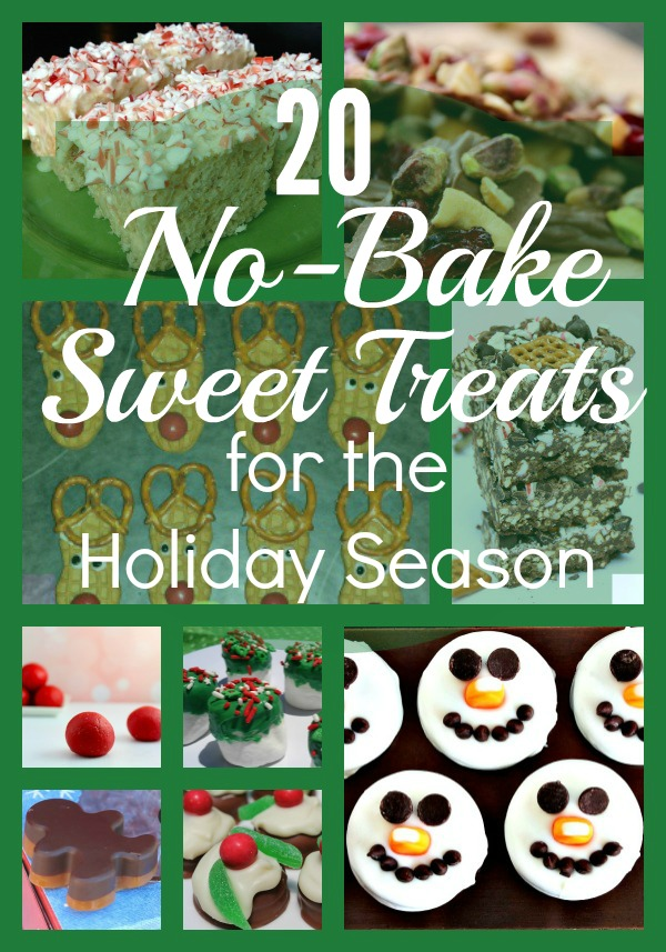 20 No-Bake Sweet Treats for the Holiday Season - It's Free At Last