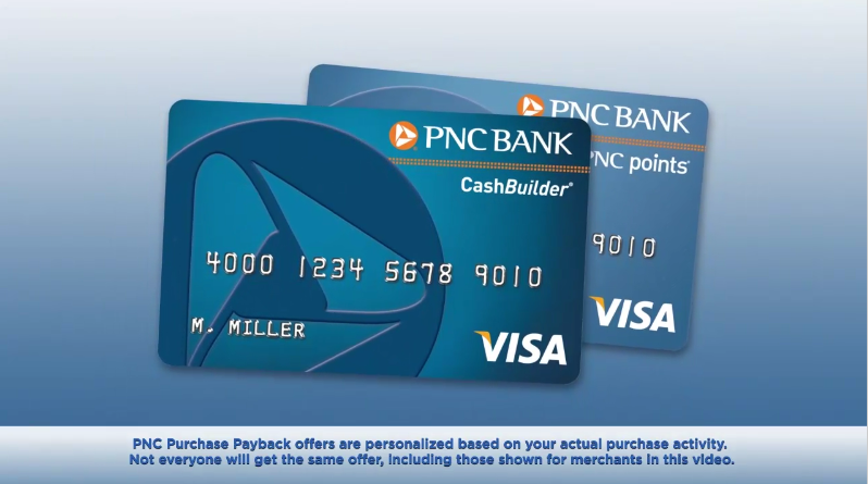 pnc purchase payback cards