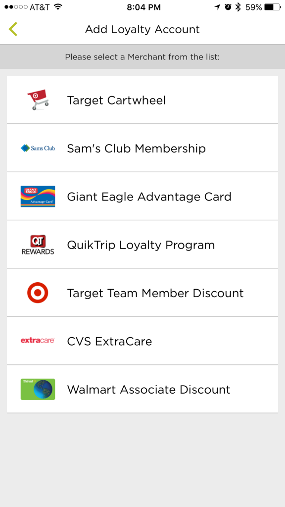 how to add card number in sears club card account