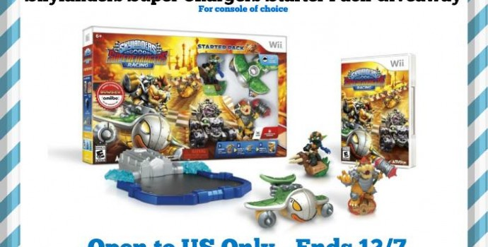 Enter to Win a Skylanders SuperChargers Starter Pack