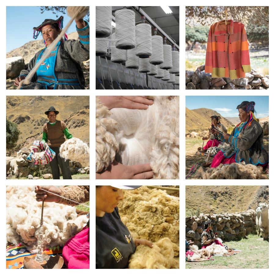 Sol Alpaca Shearing & Spinning
