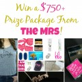Enter to Win Two Exclusive Giveaways from The Mrs Band #EvenThough #ImEnough