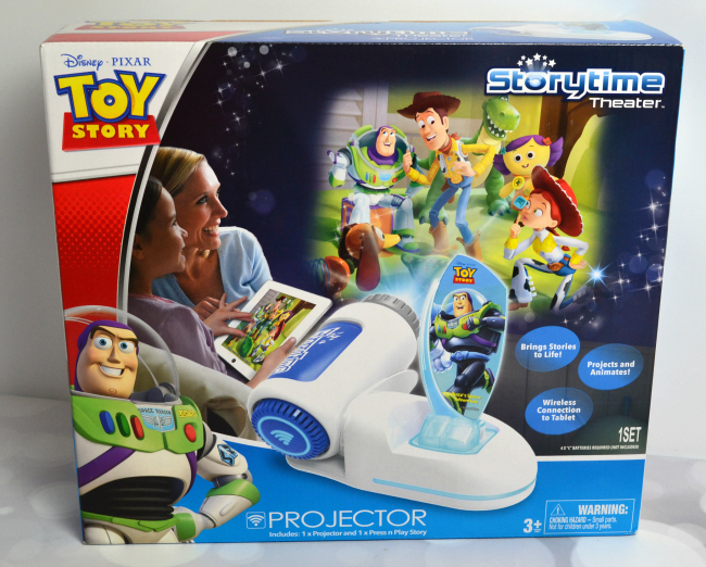 Toy Story Storytime Theater Projector #FAMChristmas