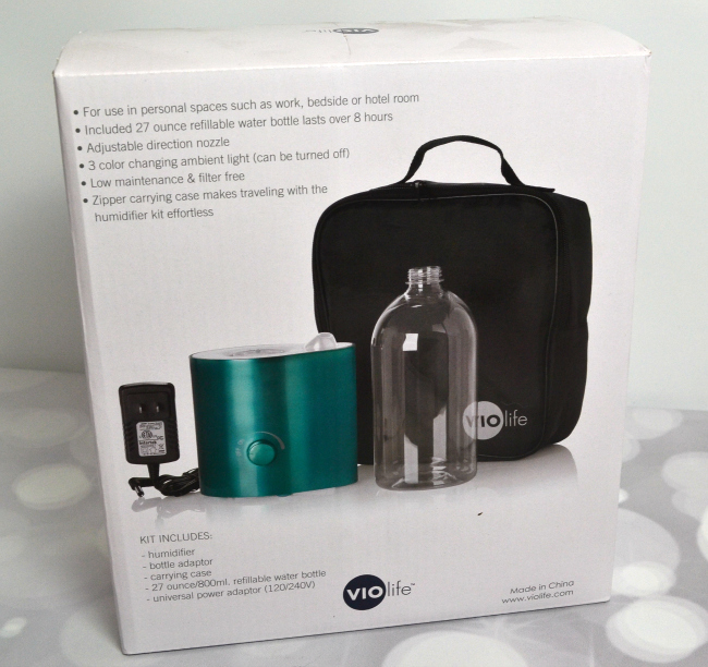 VioLife Personal Misting Humidifier #FAMChristmas