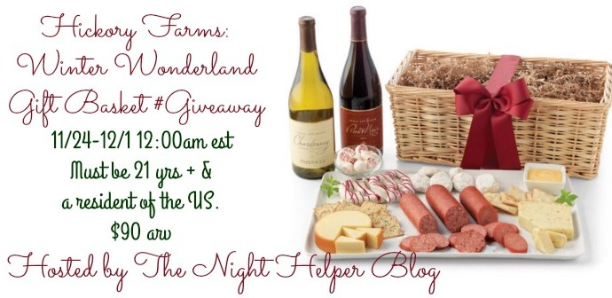 Hickory Farms Holiday Family Gift Basket Giveaway
