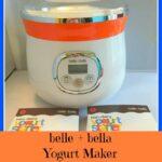 Belle + Bella Personal Yogurt Maker Giveaway