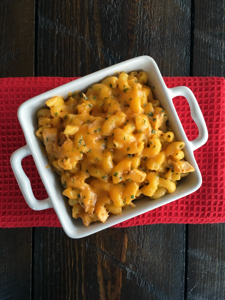 Buffalo Chicken Mac-N-Cheese #4