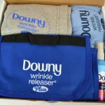 Downy Wrinkle Releaser Plus perfect for travel or everyday use #DownyWrinkle