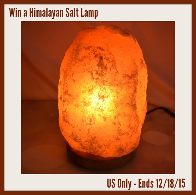 Himalayan Salt Lamp Giveaway