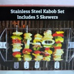 Stainless Steel Kabob Set From Cave Tools #FAMChristmas