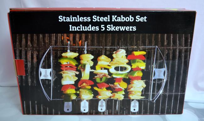 Stainless Steel Kabob Set #FAMChristmas
