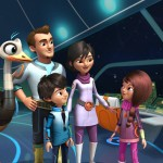 Bringing Females in STEM to light in an fun animated way with Miles from Tomorrowland
