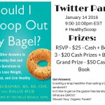 #HealthyScoop Twitter Party and Giveaway